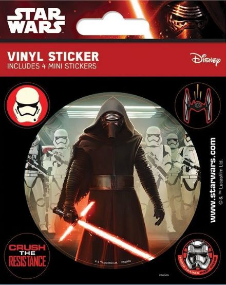 Star Wars Episode VII Vinyl Stickers